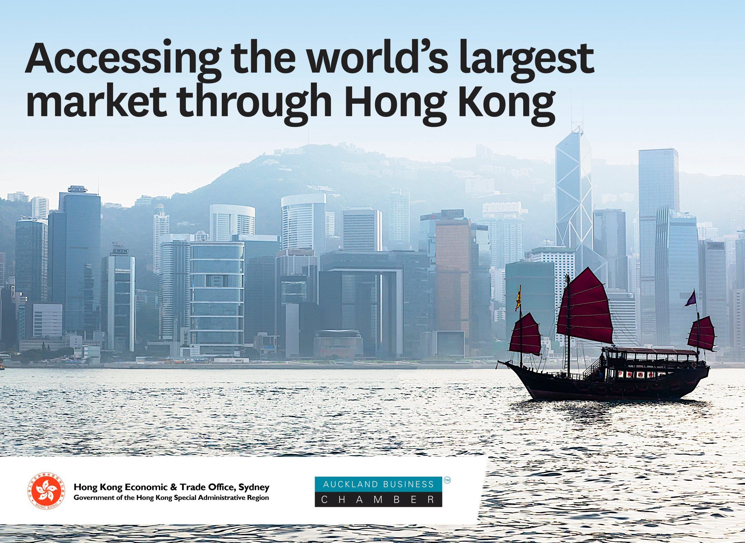 Accessing the world's largest market through Hong Kong
